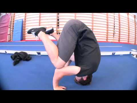 head position for headstands  youtube