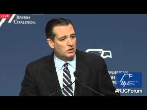 Ted Cruz at the Republican Jewish Coalition Forum