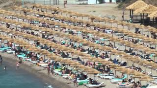 Греция, о.Кос, отели Mitsis(Greece, Kos, Mitsis Blue Domes, Mitsis Norida Beach Videocamera: Panasonic TM 900 1080/50P auto., 2011-07-12T04:24:25.000Z)