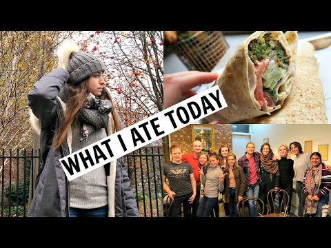 Dublin What I Ate/Did Today // Meetup + Vegan Christmas Cake