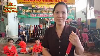 Việt Kiều Sanfancisco [cô Anna Nguyễn] tặng 200Usd giúp trẻ mồ côi Chùa Kỳ Quang 2 - Gò Vấp