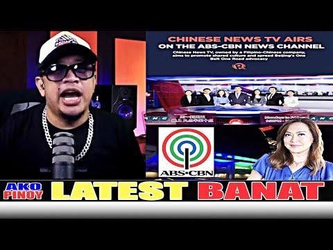 BANAT BY MAY NABISTO ABSCBN TUTA NG CHINA PERA PERA LANG CHINES NEWS TV AIRS ON THE ABS-CBN CHANNEL