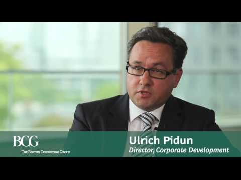 BCG's Ulrich Pidun on corporate strategy