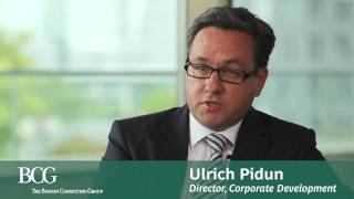 bcg s ulrich pidun on corporate strategy