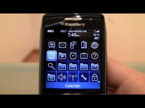 Another look at the BlackBerry Pearl 3G