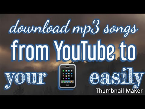 Download Mp3 Songs From YouTube Easily | YouTube Se Mp3 Songs Download Karen | Tech TJ