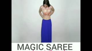 STEPS OF DRAPING Magic Saree