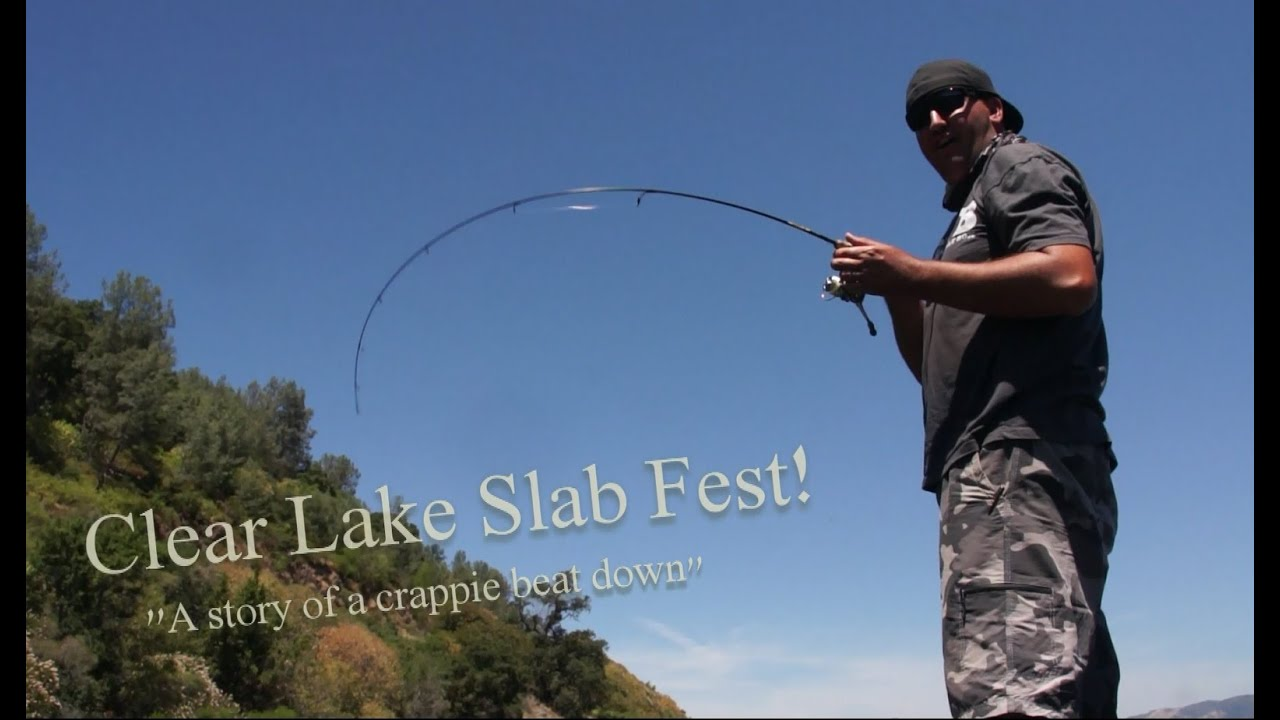 Crappie fishing clear lake tips tricks youtube for Clear lake ca fishing