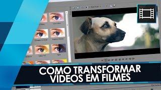 Tutorial Sony Vegas: Como Transformar QUALQUER Vídeo em FILME (Film Look)