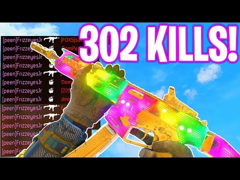 302 KILLS GAMEPLAY.. (WORLDS MOST KILLS!) - COD BO4