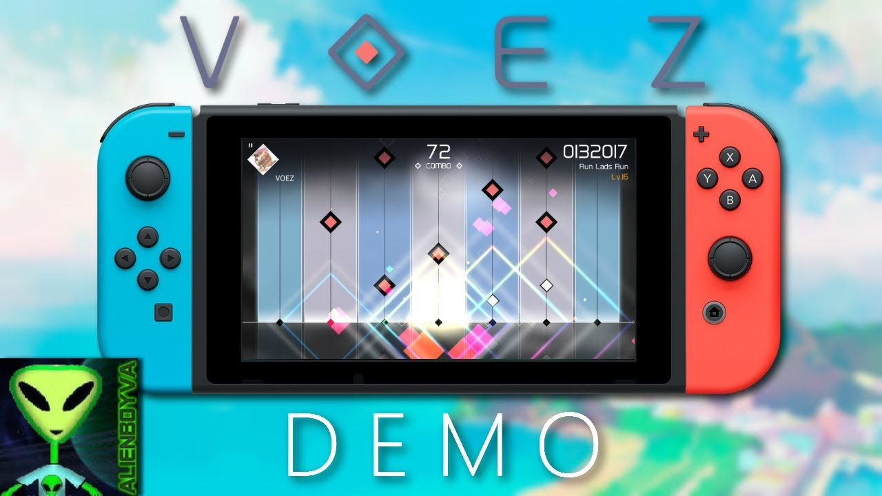 Nintendo Switch Voez Demo Quick Look Youtube