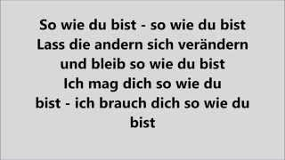 So wie du bist - MoTrip (feat. Lary)  LYRICS | LYRIC GIRL
