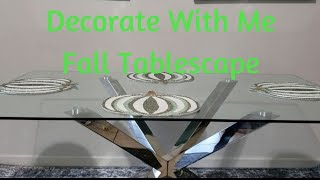 VLOGTOBER DAY 2 *NEW DINING ROOM TABLE*  DECORATE WITH ME