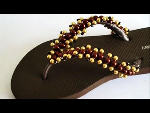 c6123b94d8e DIY  Bead Flip Flop - YouTube