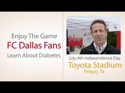 Kick Diabetes FC Dallas July