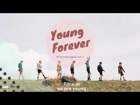 [中字] BTS 防彈少年團- young forever(unplugged ver)