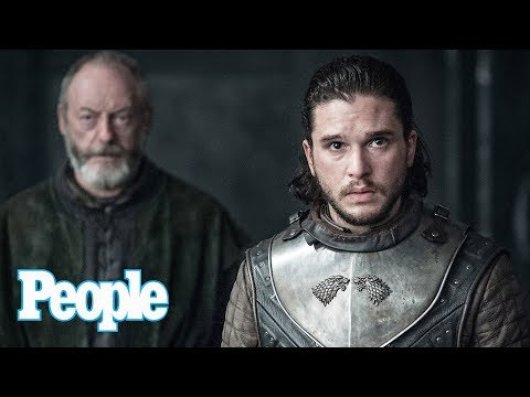 'Game Of Thrones' Star Kit Harington Talks Jon Snow Finally Meeting Daenerys | People NOW | People
