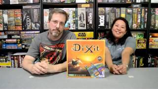 Unboxing of Dixit by Asmodee