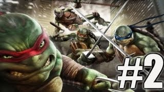 Chapter 2 - Teenage Mutant Ninja Turtles: Out of the Shadows Walkthrough Part 2 (TMNT: OotS)