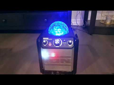 ION PARTY ROCK STAR KARAOKE MACHINE