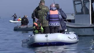 Севастополь. Рыбалка с лодки. Селедка валом напротив Херсонеса Таврического