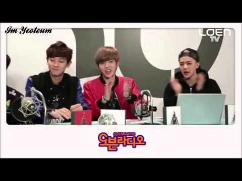 [ENG SUB] EXO -  Free Style Rap Battle {Oven Radio}