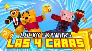 sky wars afortunado 3   minecraft lucky blocks skywars con exo macundra sarinha y luh