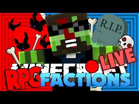Minecraft: RPG Factions | HALLOWEEN MURDER EVENTS!! [11]