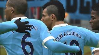 Video Gol Pertandingan West Ham United vs Manchester City