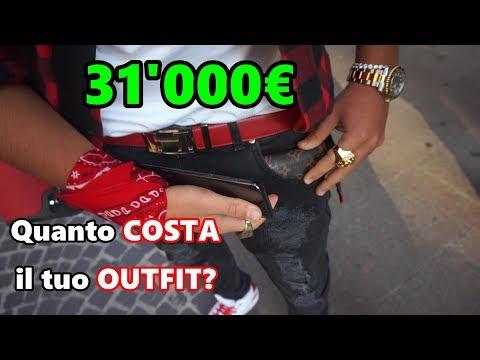 Quanto COSTA il tuo OUTFIT? [31'000€ Rolex, Versace, Supreme]