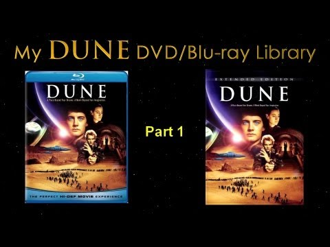 My DUNE Blu-ray & DVD Video Library - Part 1