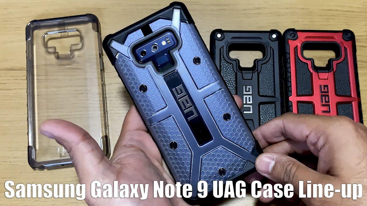quality design 838b3 757ab Samsung Galaxy Note 9 UAG Case Line-Up - Plyo - Plasma - Monarch