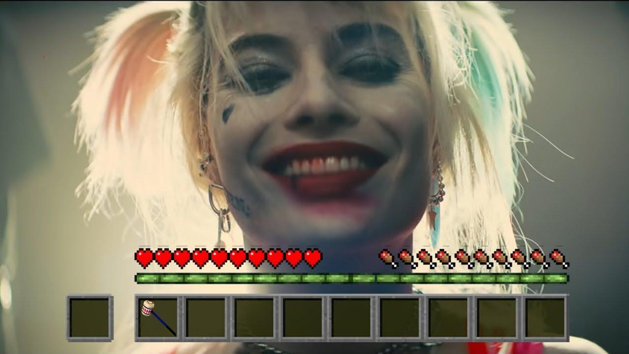 Harley Quinn Birds of Prey Trailer : Minecraft Style - YouTube