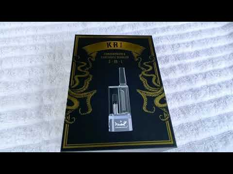 KR1 – Single Cartridge / Concentrate Vape Battery