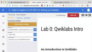 Get Started with GCP and Qwiklabs - Machine Learning with TensorFlow on GCP from Google Cloud #9