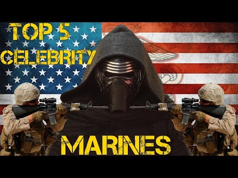 Top 5 Celebrities You Didn't Know Were Marines