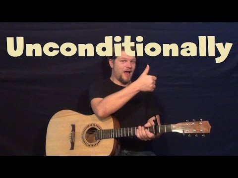 Unconditionally (Katy Perry) Easy Guitar Lesson How to Play Tutorial ...