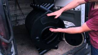 Видео обзор печи Булерьян Montreal тип 02 завода Новаслав Киев