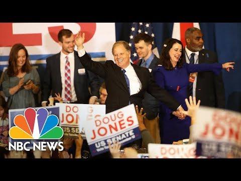 Doug Jones' Alabama Victory Speech (Full) | NBC News