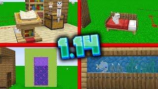14 BUILD HACKÓW na 1.14! (kolorowy portal, akwarium i więcej)