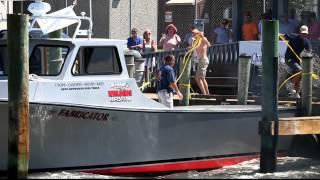 2012 Cape Charles Clam Slam Boat Docking Contest, Virginia