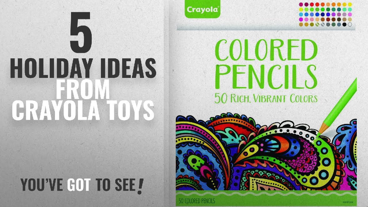 Holiday Ideas From Crayola Toys Crayola Colored Pencils 50 Count