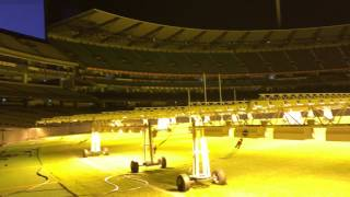 Melbourne Cricket Ground (MCG) At Night Time - Sleep At a The G 2017