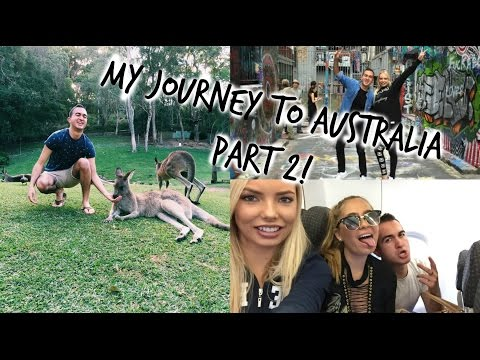 MY JOURNEY TO AUSTRALIA! PART 2 - KANGAROOS, DREAMWORLD, MELBOURNE