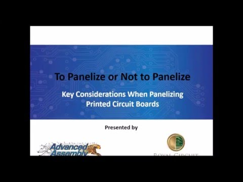 Panelization Webinar | Advanced Assembly