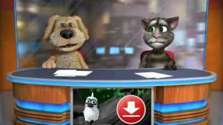 ベンとトムが喧嘩 Talking Tom & Ben News - app for iPhone and iPad.