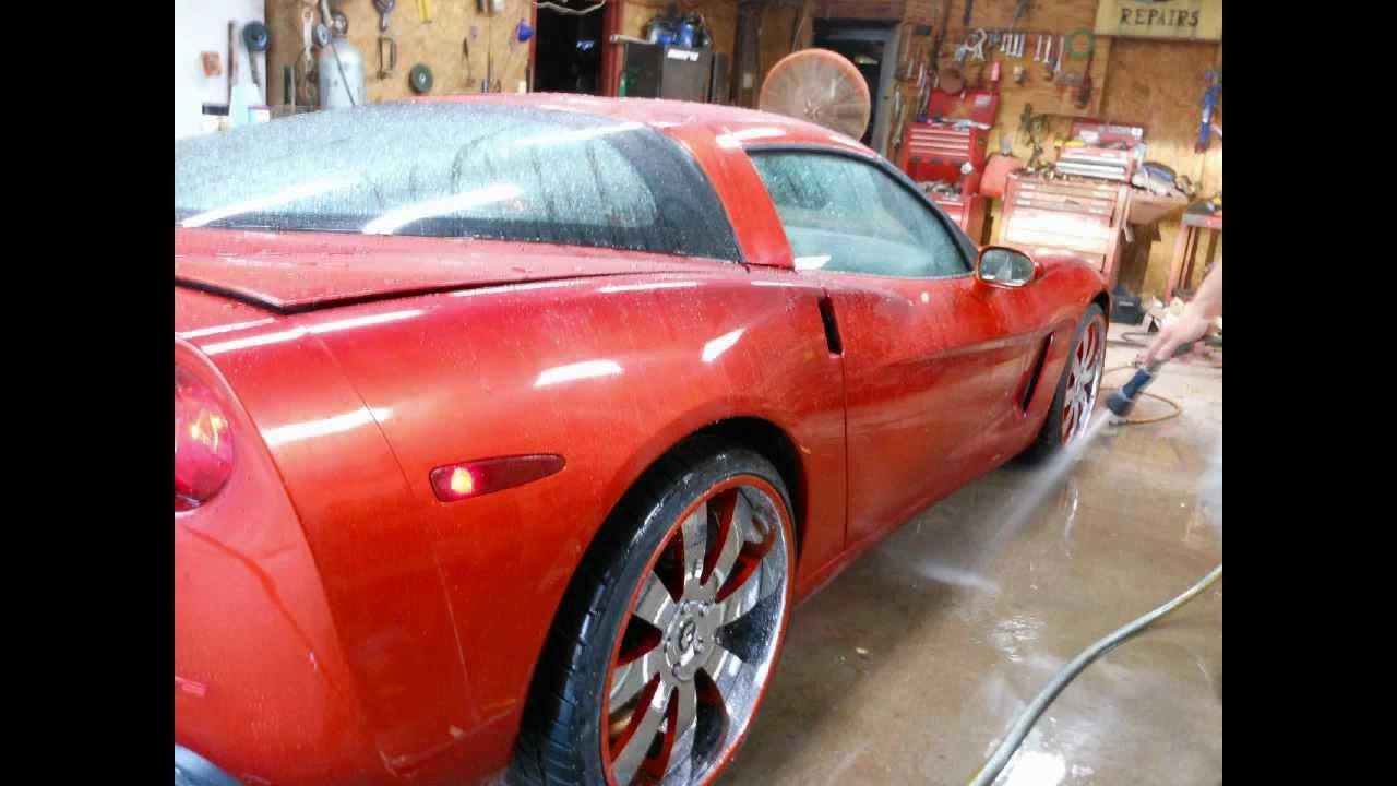 C6 Corvette Custom Paint Youtube