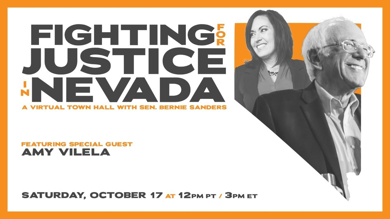 FIGHTING FOR JUSTICE IN NEVADA: FT. BERNIE & SPECIAL GUEST AMY VILELA (12PM PT/3PM ET)