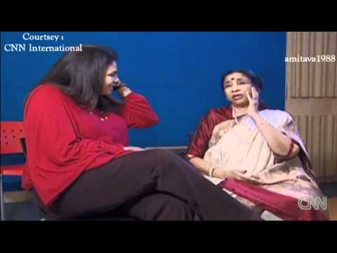Asha Bhosle CNN International English Interview