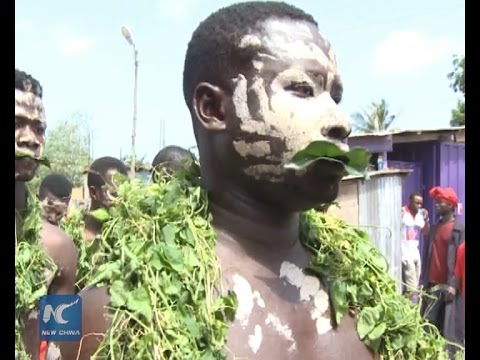 Homowo: the hunger hooting festival in Ghana